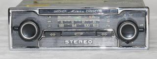 Becker Monza Stereo LMU