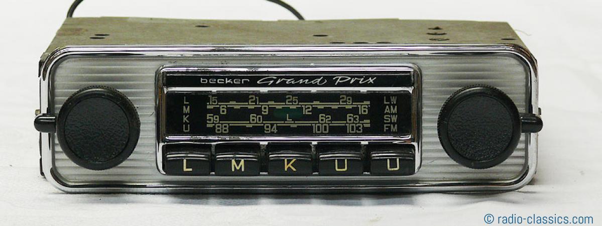 becker grand prix ford bec 26686750 radio classics. Black Bedroom Furniture Sets. Home Design Ideas