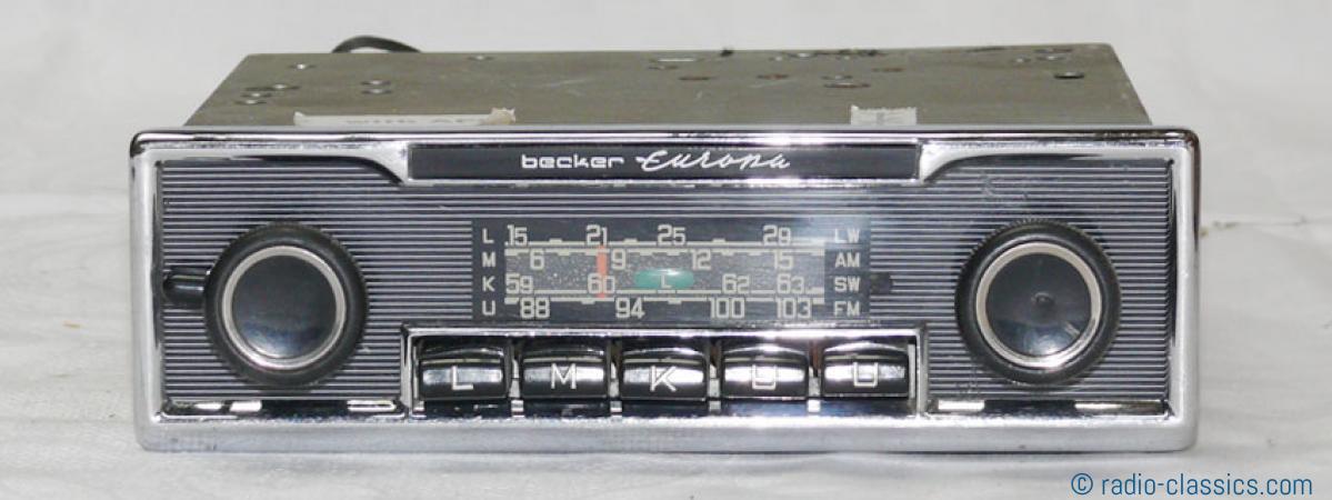 becker europa lmku bec f 514892 radio classics. Black Bedroom Furniture Sets. Home Design Ideas