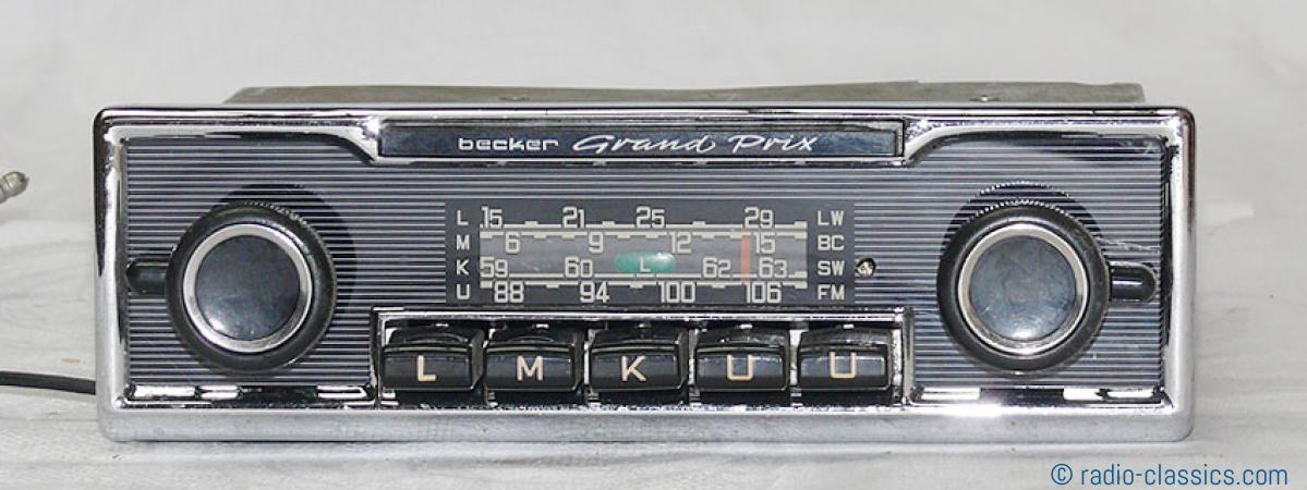 becker grand prix bec j 253712 radio classics. Black Bedroom Furniture Sets. Home Design Ideas