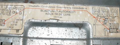 Blaupunkt Köln TR de Luxe